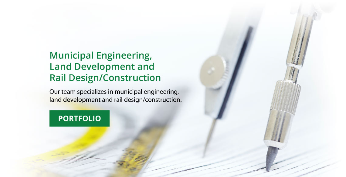 Municipal Engineering, Land Development & Rail Design/Construction in Grande Prairie, AB